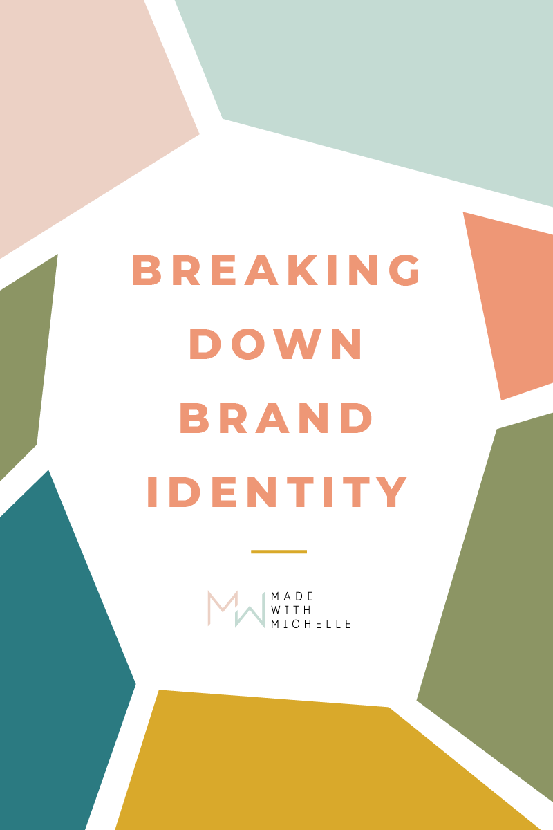 brand identity pin