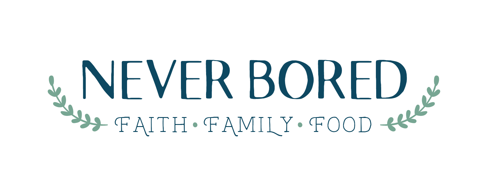 final never bored logo design