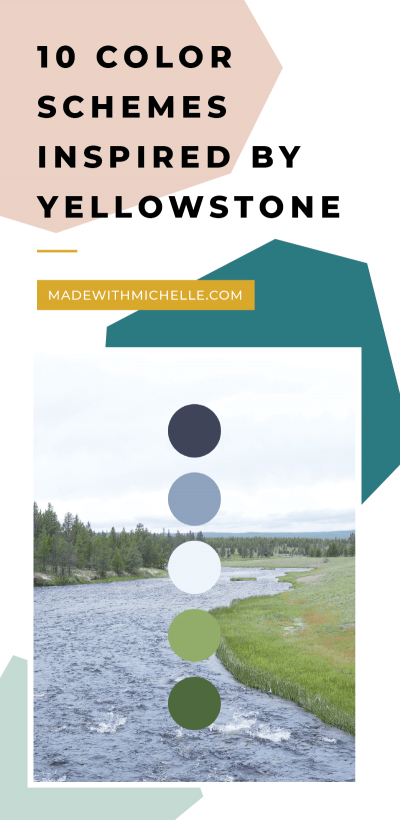 yellowstone color scheme pin
