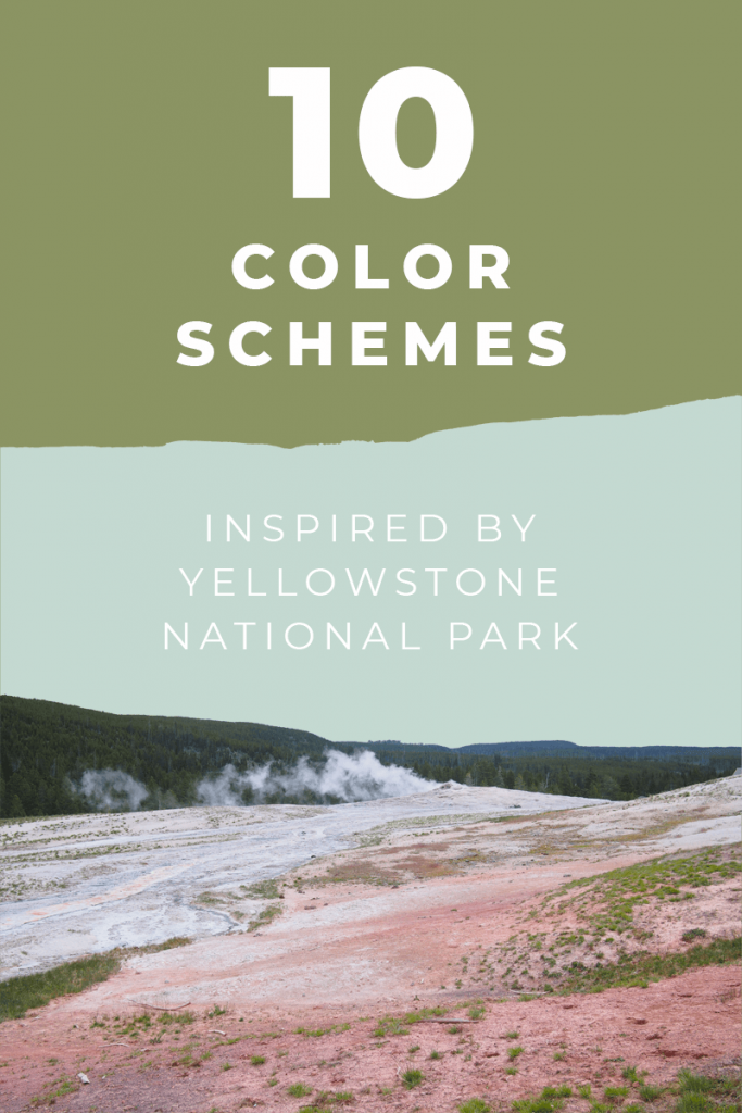 10 color schemes inspired by Yeellowstone