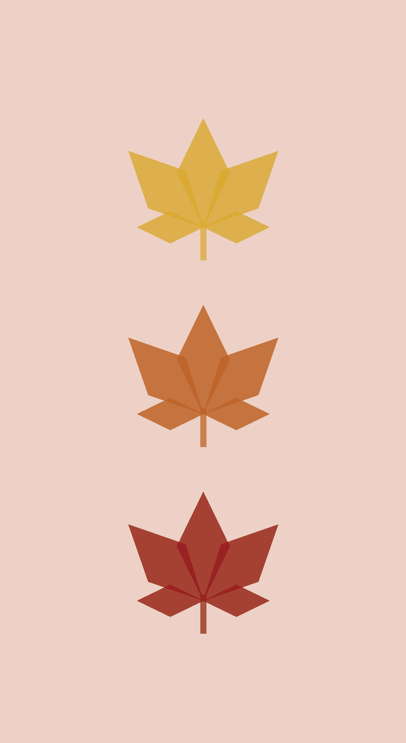 Fall Leaves Pink Phone Wallpaper