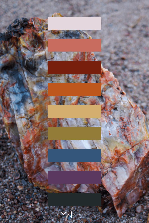 Petrified Forest Color Palette 12