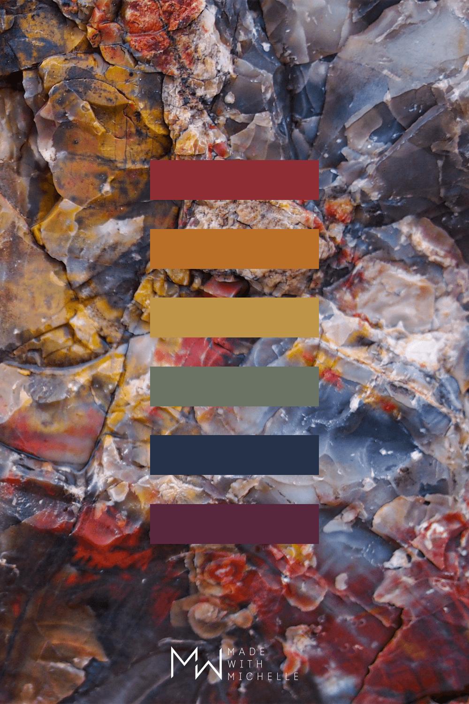 Petrified Forest Color Palette 4b