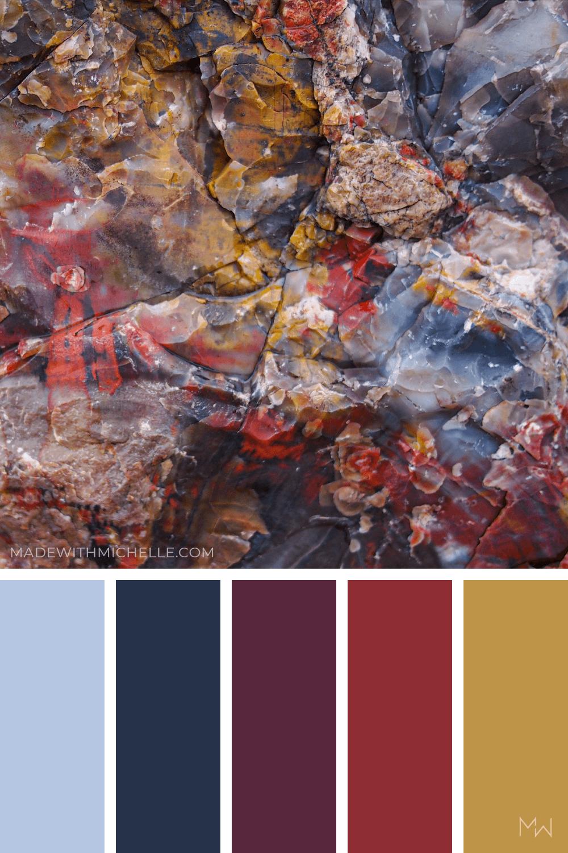 Petrified Forest Color Palette 3