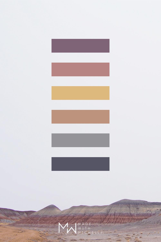 Petrified Forest Color Palette 6