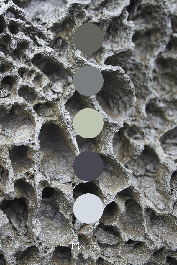 rock color palette
