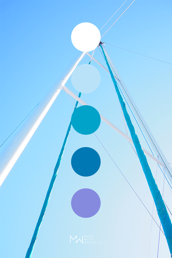 sailboat color palette