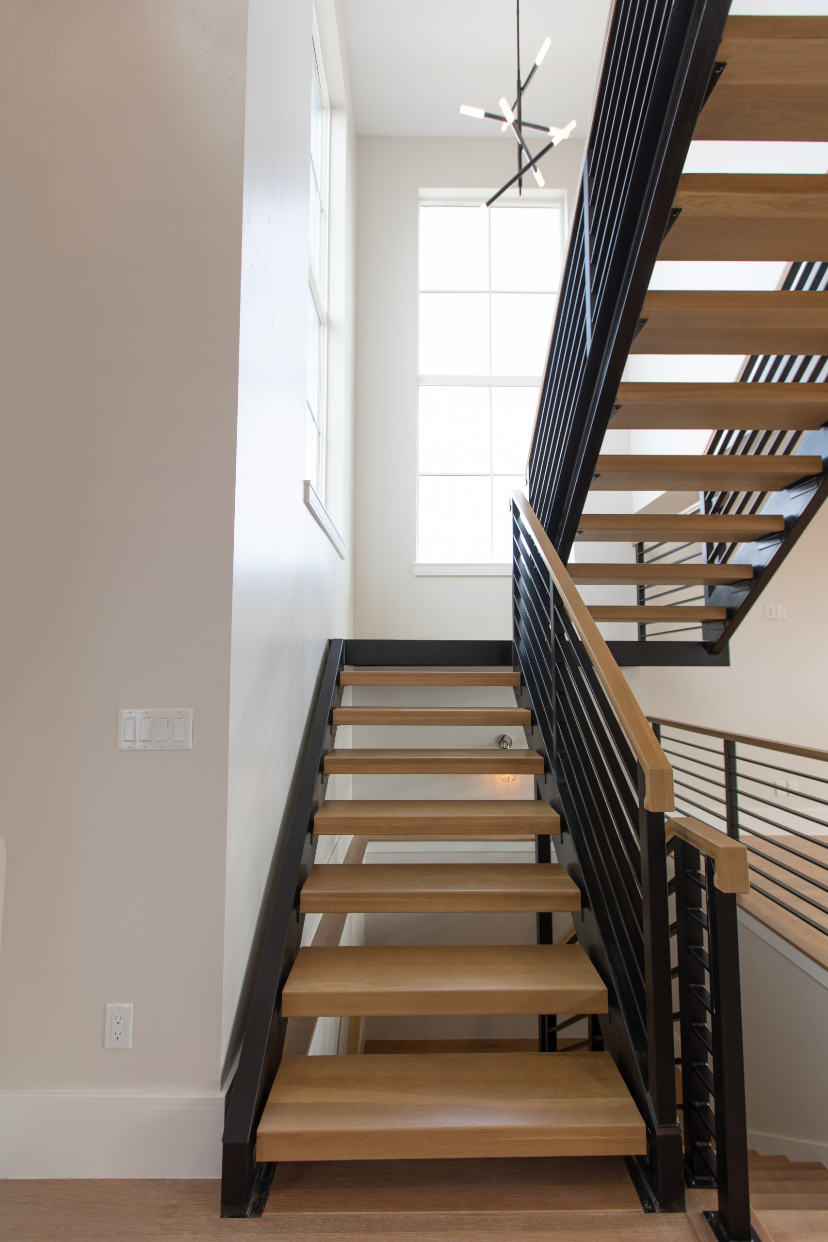 Interior Photography: Entryway Stairs