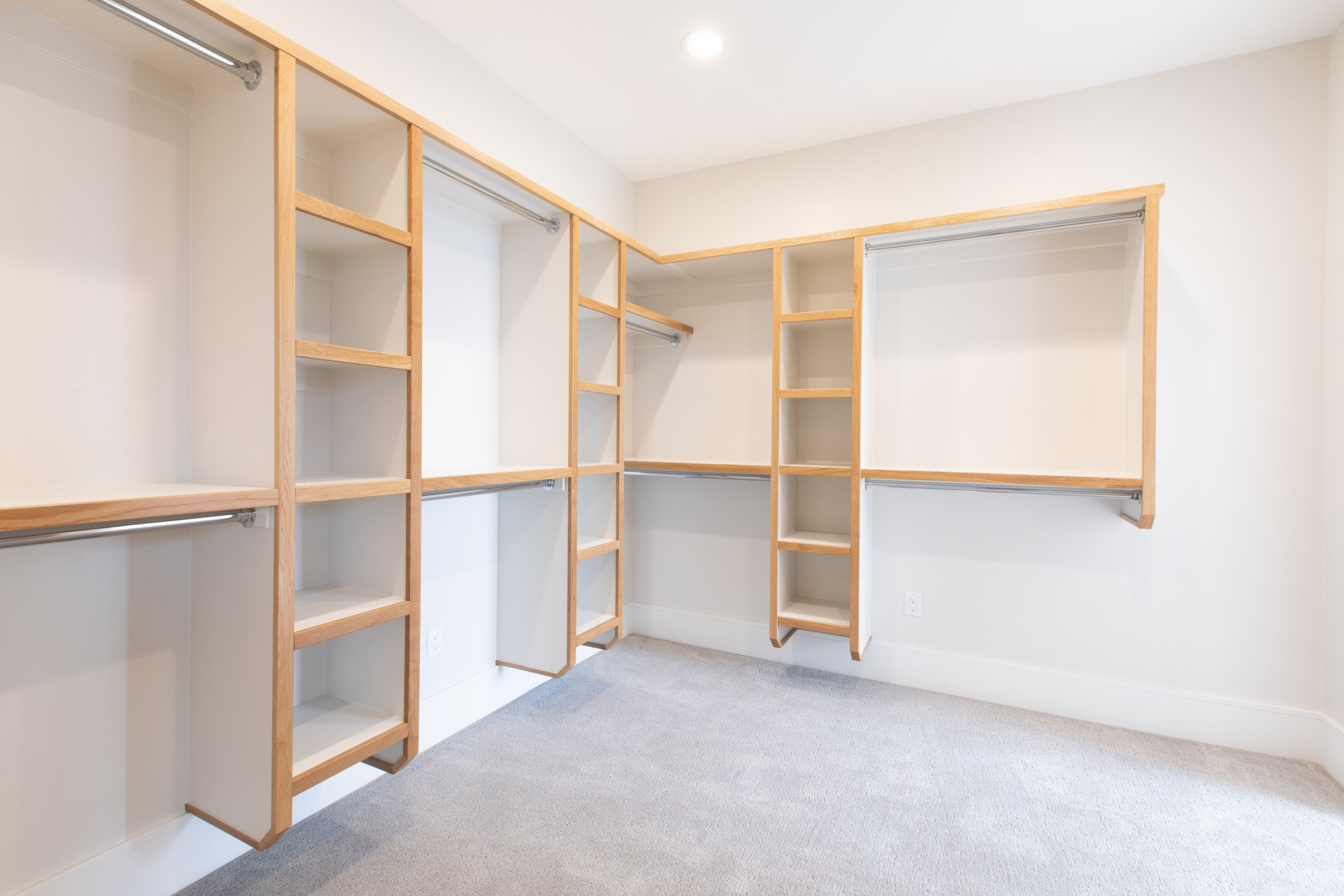 Interior Photography: Walk-in Closet