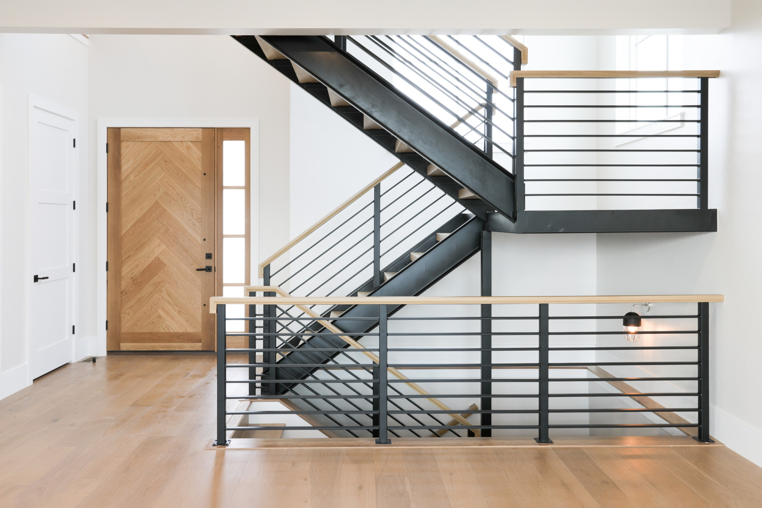 Interior Photography: Stairs and Front Door