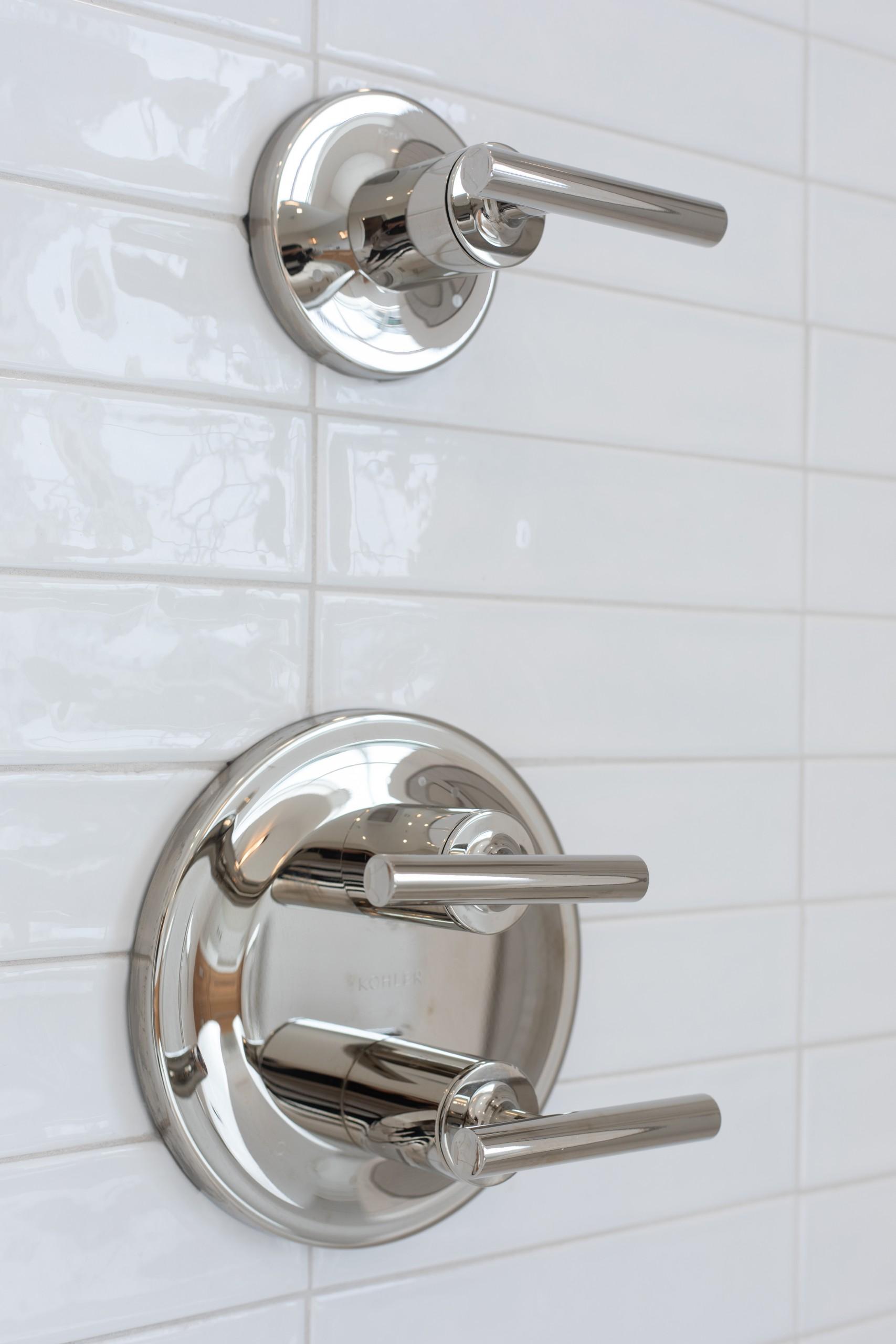 White Shower Detail