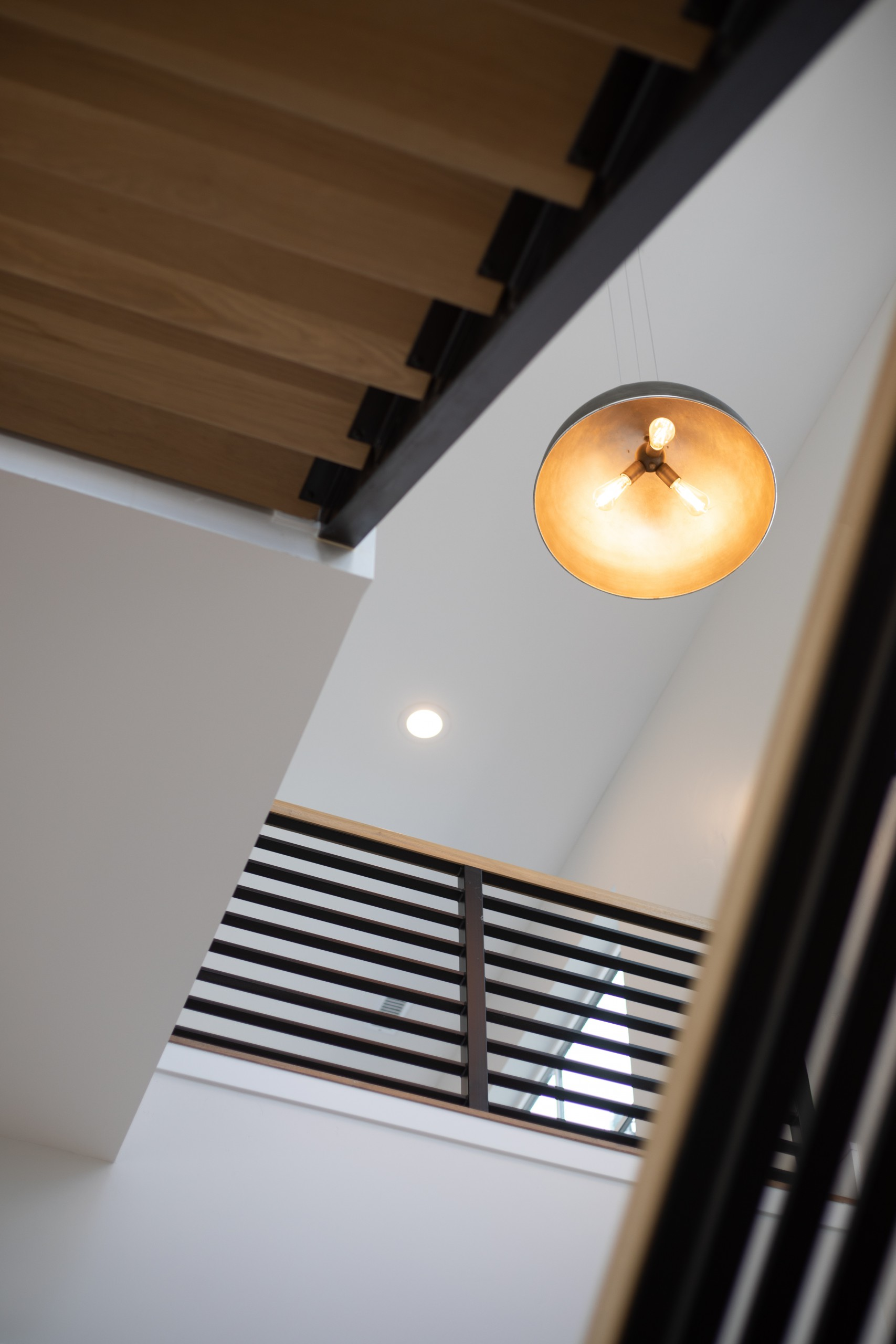 Interior Photography: Entryway Looking Up