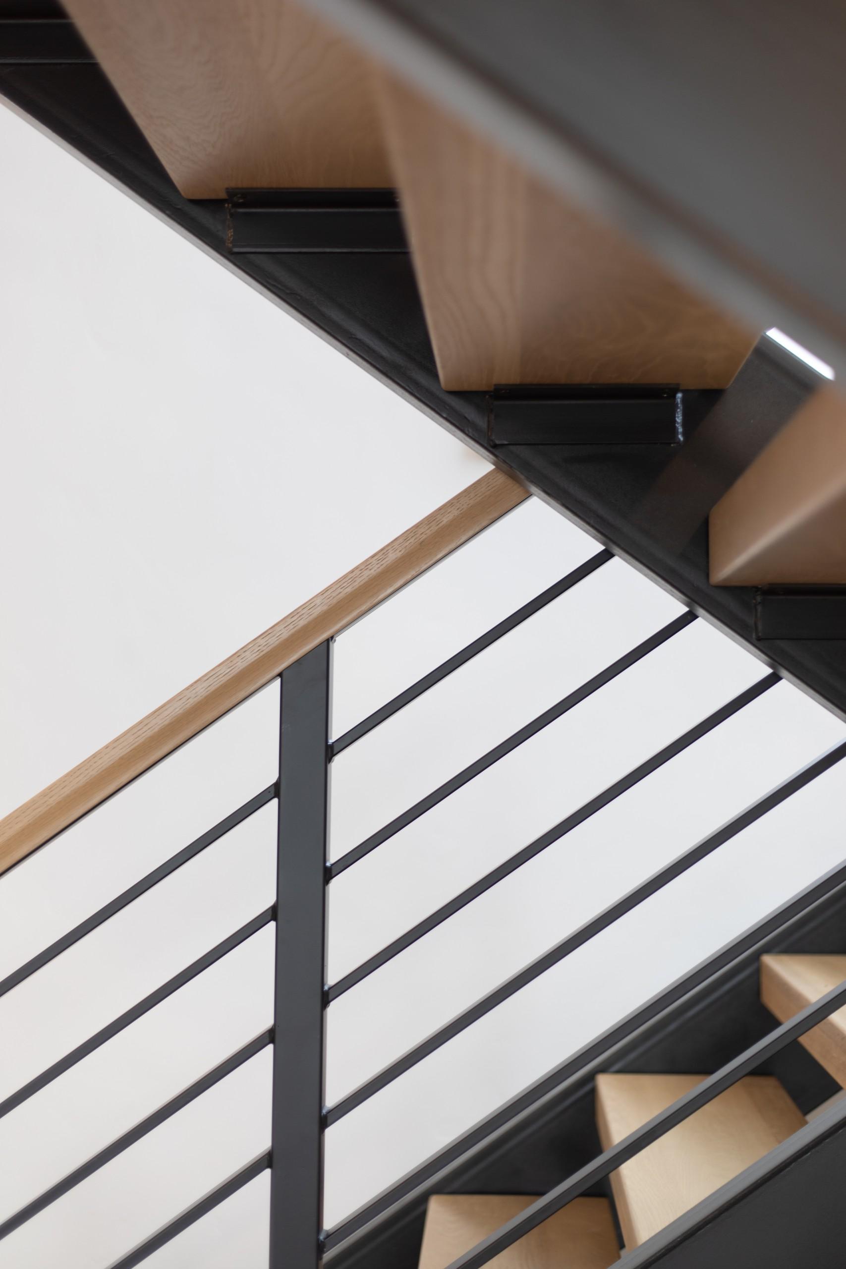 Interior Photography: Stairway Detail 1