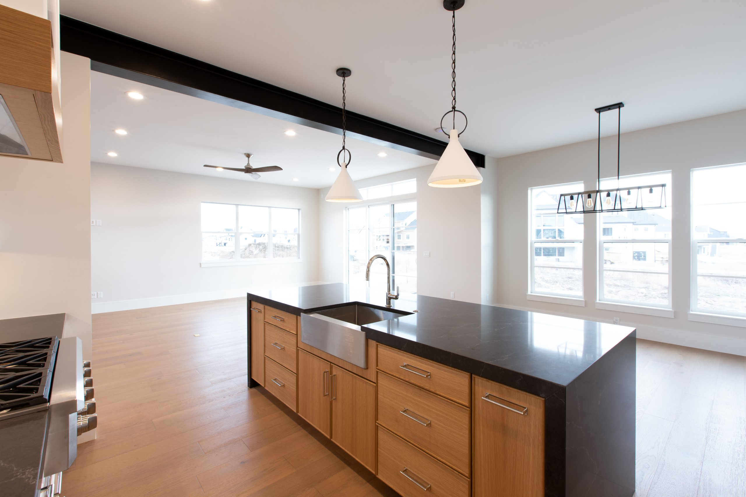Interior Photography: Kitchen Sink Wide