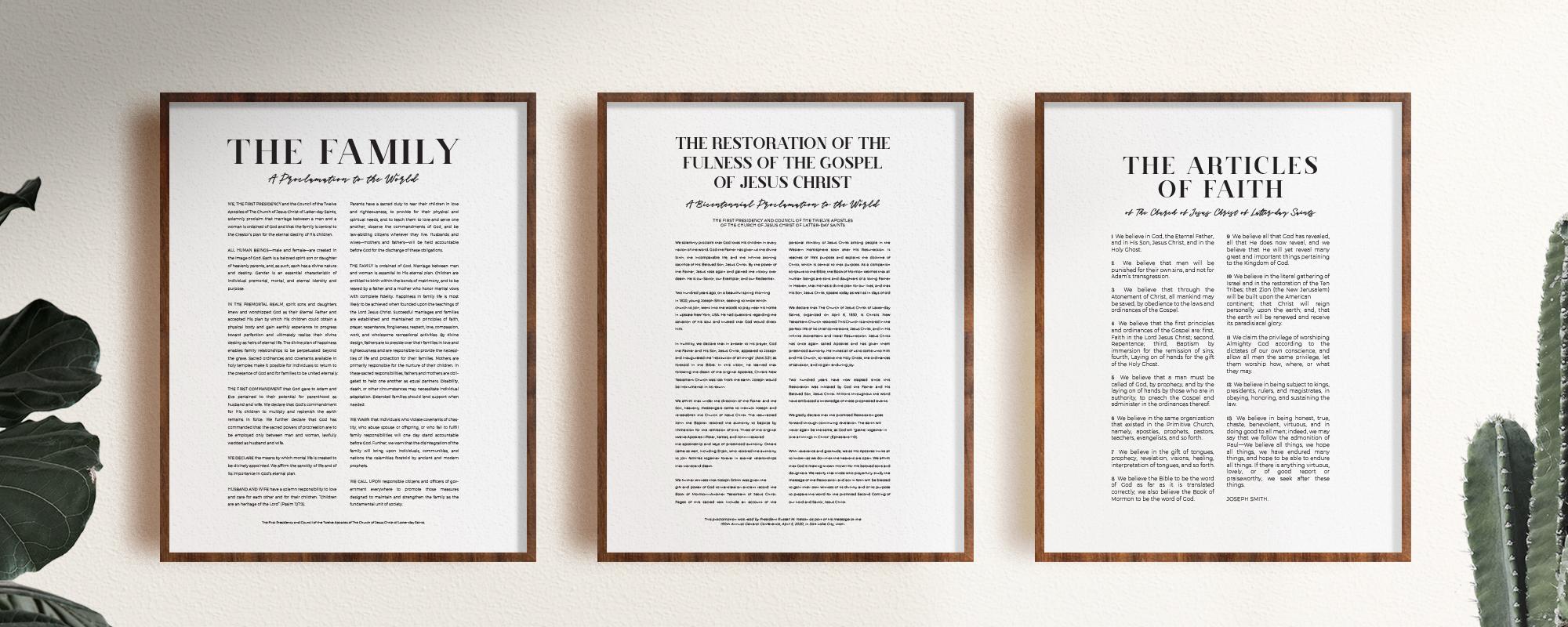 Bicentennial Proclamation Prints